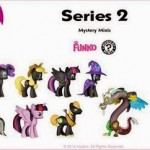 Une série 2 de Mini Figurines Funko My little Pony