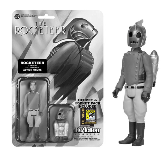 rocketeer sdcc reaction figure