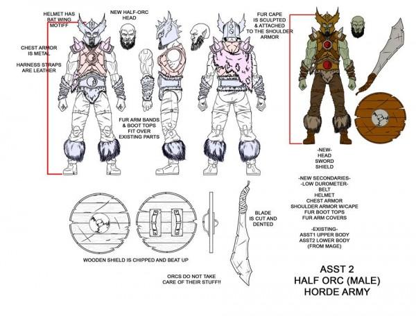 series 2 half orc boss fight studio