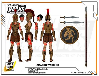 vitruvian hacks amazon warrior