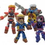 Marvel présente le set X-Force Minimates