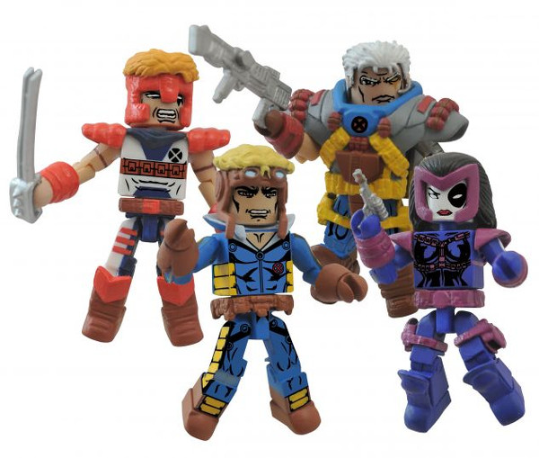 xforce minimates marvel
