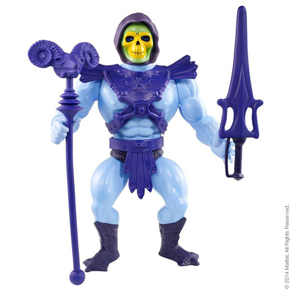 Masters of the Universe® Giant He-Man® and Giant Skeletor®, $75 each.
