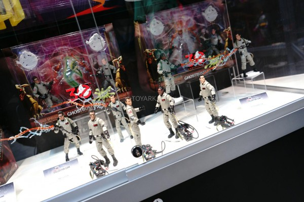Mattel's Ghostbusters Display From SDCC 2014