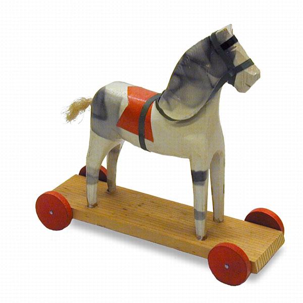 Cheval d'Osby, le 1er jouet BRIO lancé en 1907
