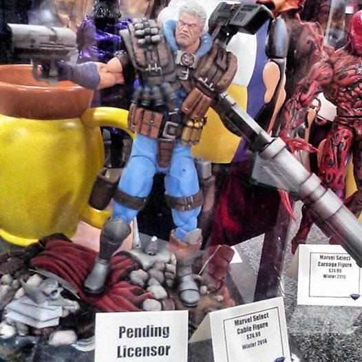 dst marvel select cable sdcc