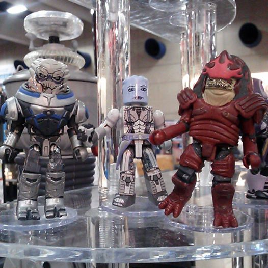 dst mass effect minimates sdcc