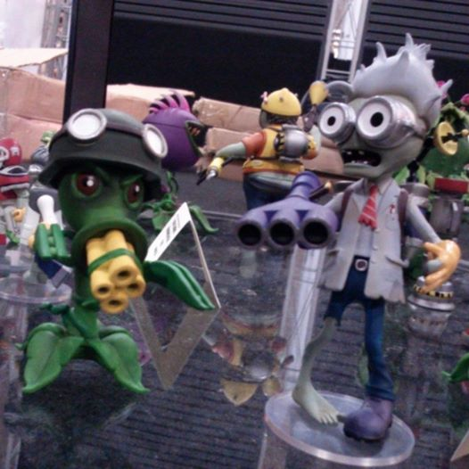 dst plants vs zombies sdcc