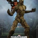 Guardians of the Galaxy: Rocket Raccoon et Groot par Hot Toys