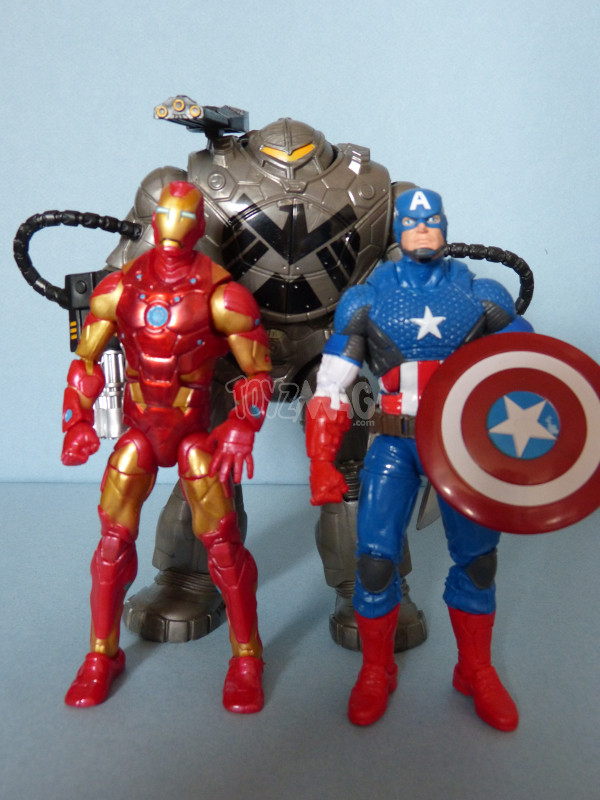 mandroid marvel legends BAF 11