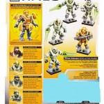 #SDCC : sets Zombie Halo annoncés par Mega Bloks