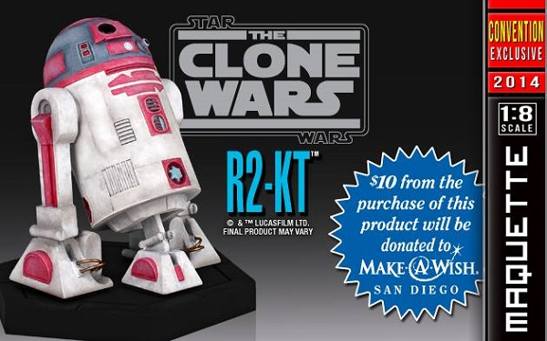 r2-kt maquette gentle giant sdcc