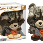 Une peluche Rocket Raccoon