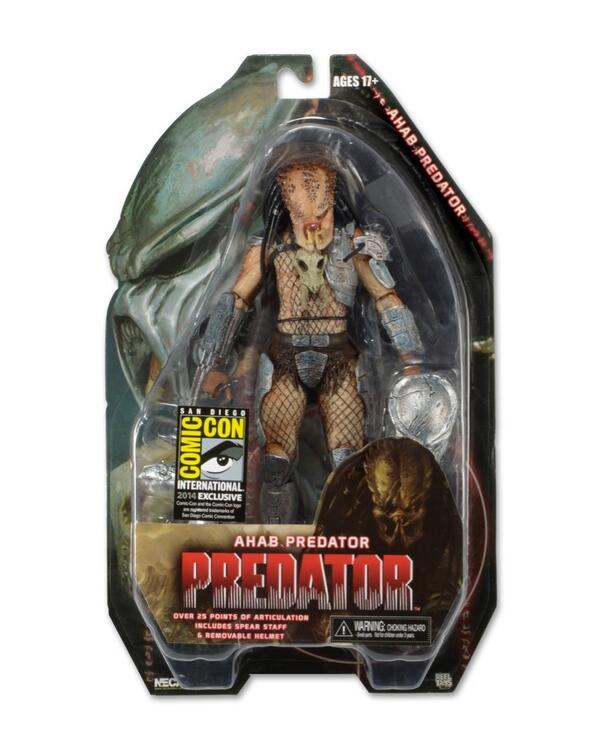 sdcc predator ahab neca