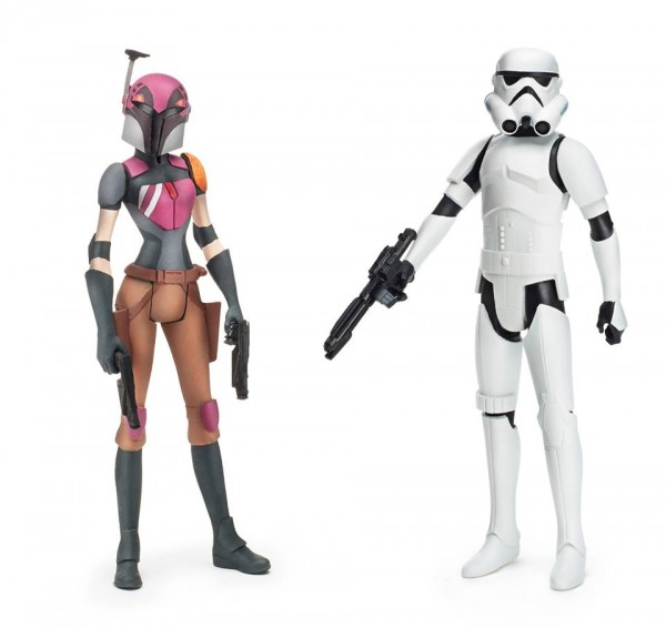star wars rebles Sabine Wren + Stormtrooper