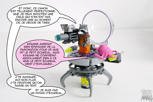 Guardians of the Galaxy - LEGO Set 76020 - La mission d'évasion
