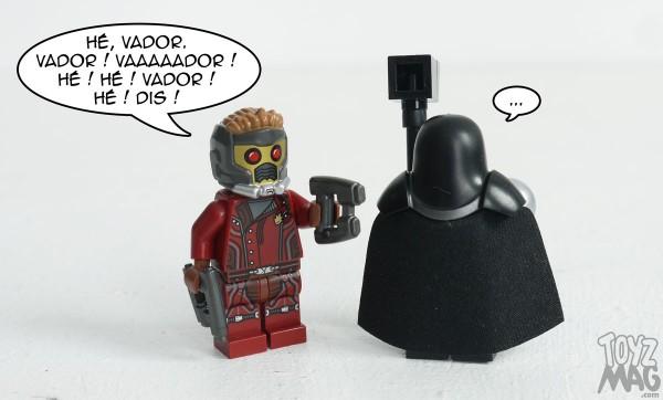 Guardians of the Galaxy - LEGO Set 76021 - L'attaque du vaisseau Milano