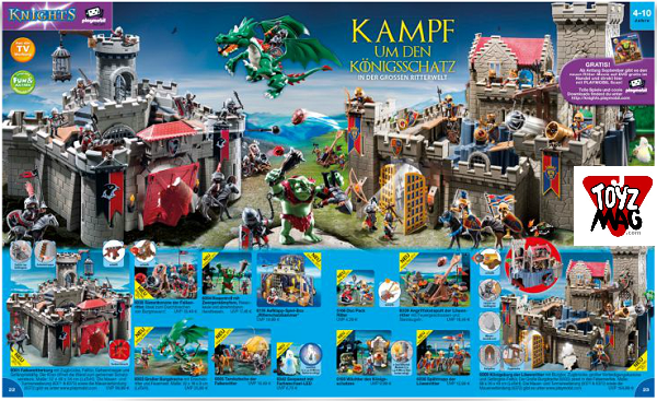 catalogue allemand playmobil chevalier