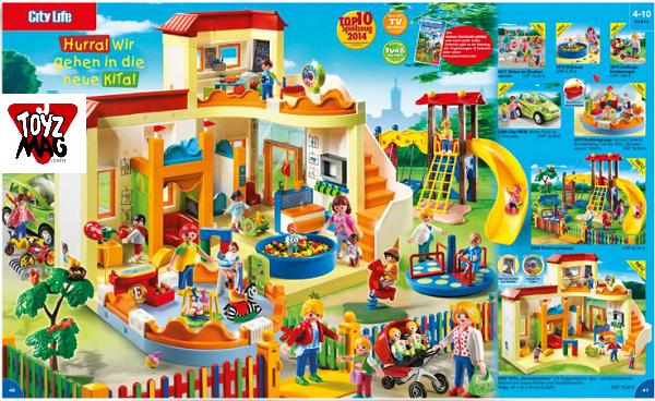 catalogue allemand playmobil creche