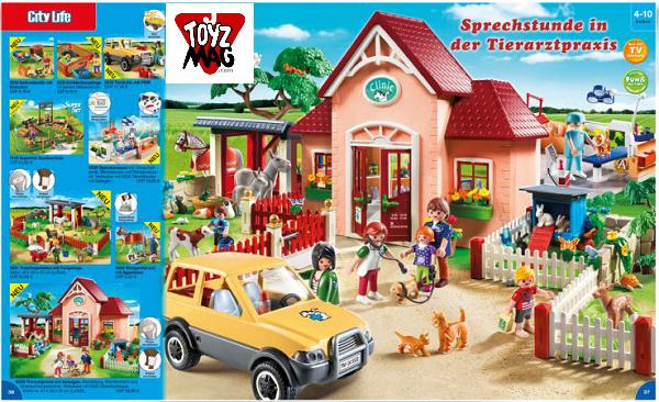 catalogue allemand playmobil véto