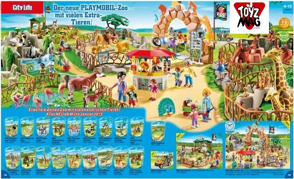 catalogue allemand playmobil zoo