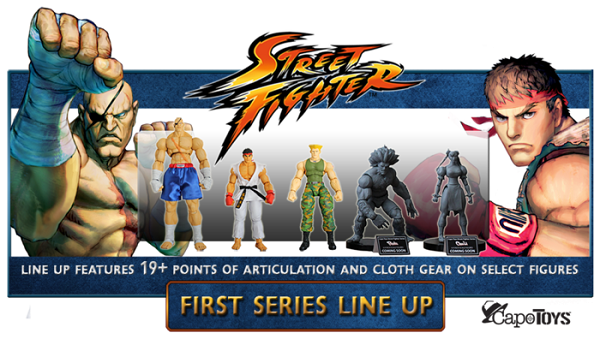 line up street fighter capo toys