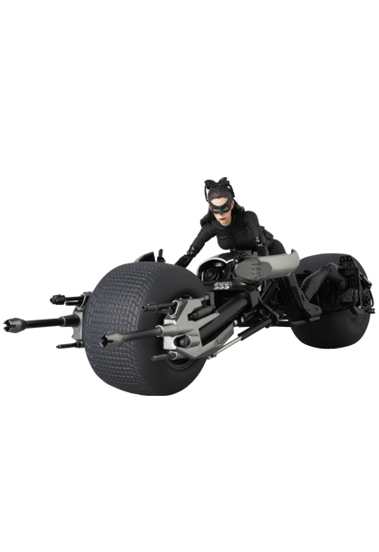 Mafex : Catwoman et Batpod de The Dark Knight Rises