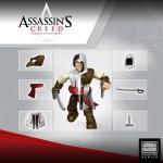 Assassin's Creed : des figurines customisables par Mega Bloks