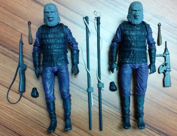 planet of the apes neca 2pack gorilla