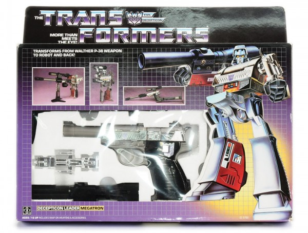 Jouet Transformers (Megatron)