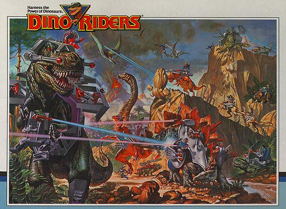 Les Dino -Riders