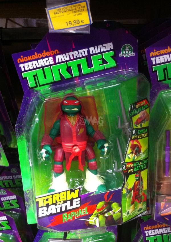 tmnt Tortues Ninja Throw N Battle