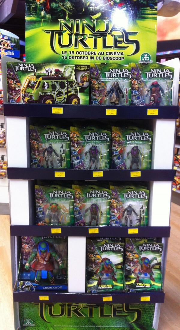 TMNT ninja Turtles Tortues ninja figurines du fim