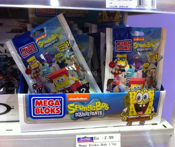 Mega Bloks Bob l'éponge