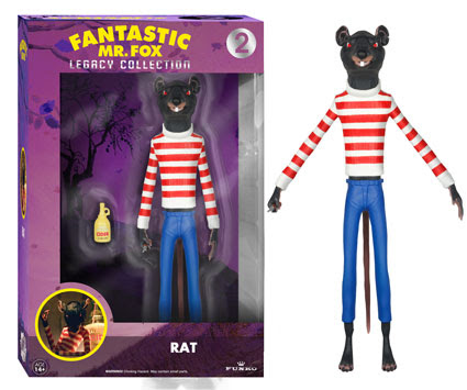 Mr fox funko legacy  RAT