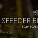 Star Wars - Sideshow : préco Scout Trooper & Speeder Bike