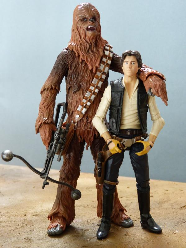 balck series 6in chewbacca star wars hasbro 10