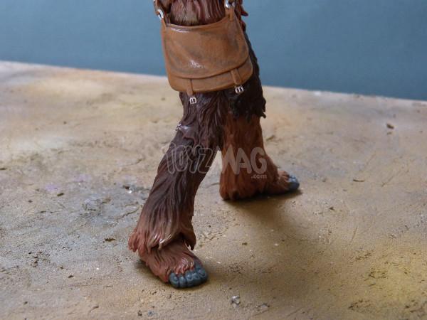 balck series 6in chewbacca star wars hasbro 7