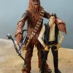 balck series 6in chewbacca star wars hasbro 9
