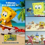 Une bande annonce pour le nouveau film de Bob L'Eponge
