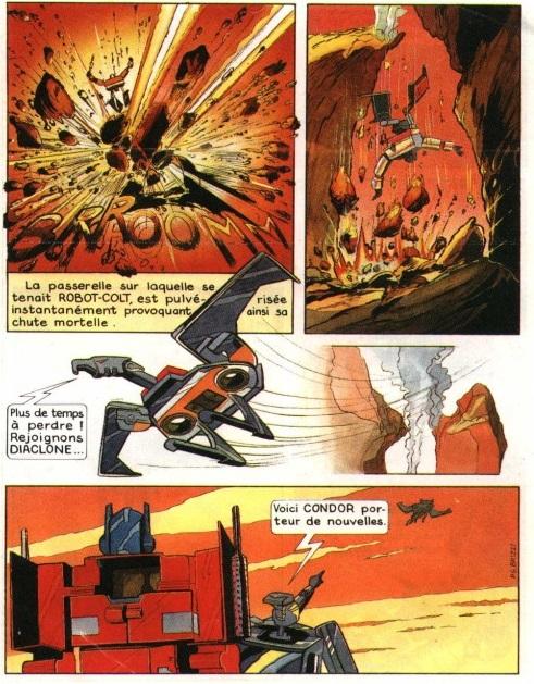 Mini comics Diaclone