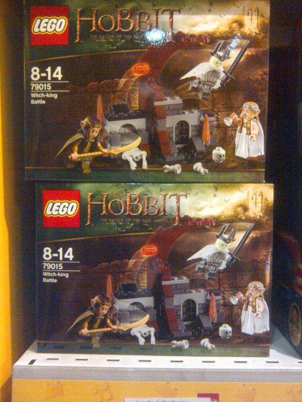 dispo en france hobbit star wars 2
