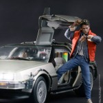 Retour vers le futur : DeLorean Time Machine par Hot Toys