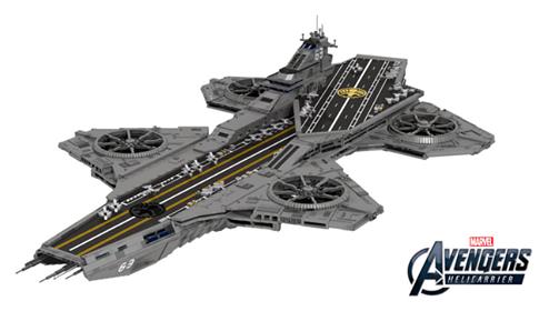 lego ideas shield helicarrier marvel