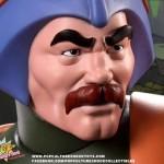 Le maître d'Armes, les images officielles de la statuette