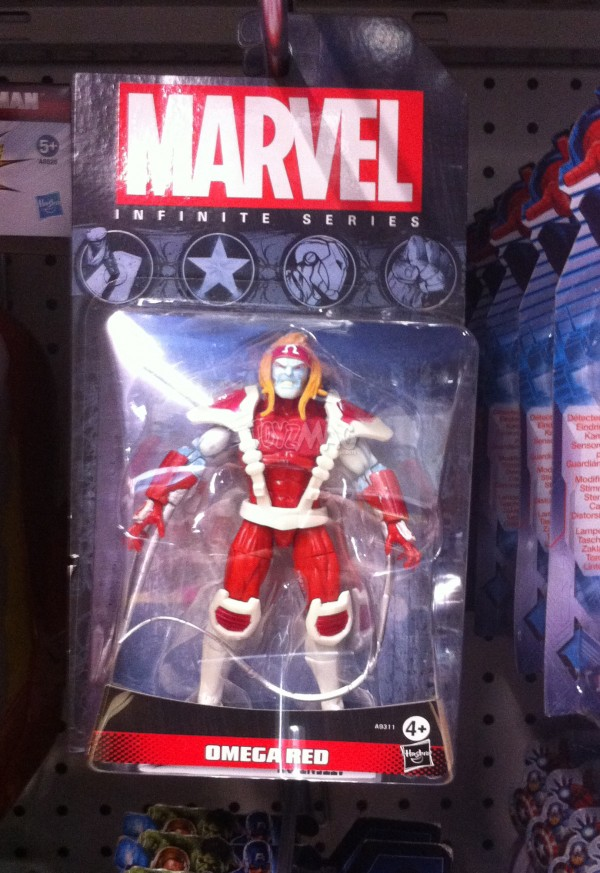 marvel infities series Omega REd