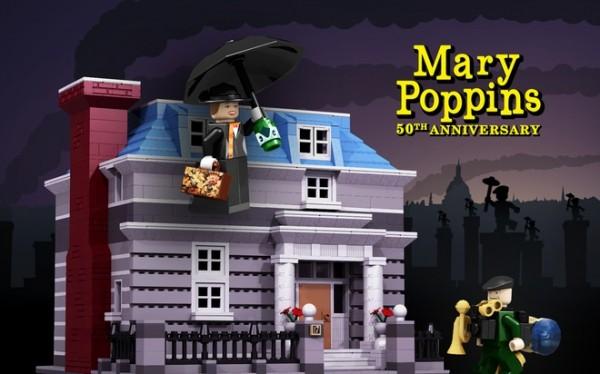 mary poppins lego ideas