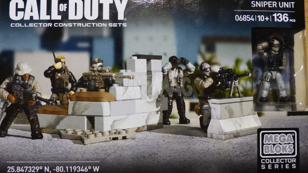 mega bloks call of duty sniper team 1