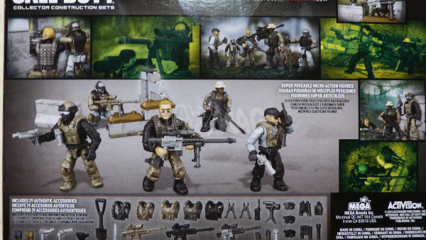 mega bloks call of duty sniper team 2