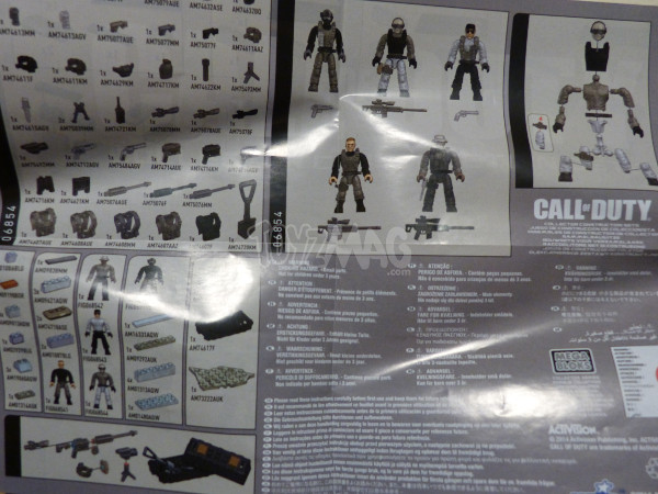 mega bloks call of duty sniper team 3